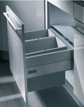 Häfele Doppel-/Dreifach-Abfallsammler Hailo Zargen-Cargo zum Einhängen in Auszugssysteme