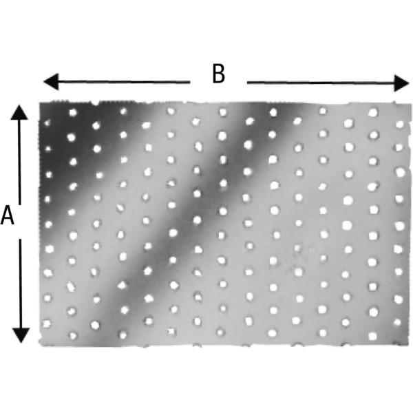 Simpson Lochblech Type NP feuerverzinkt verschiedene Größen