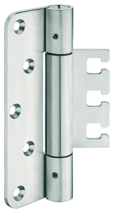 Häfele Startec Objekttürband, Größe 160 mm - Türband für Aufnahmeelement VX - für ungefälzte Türen,