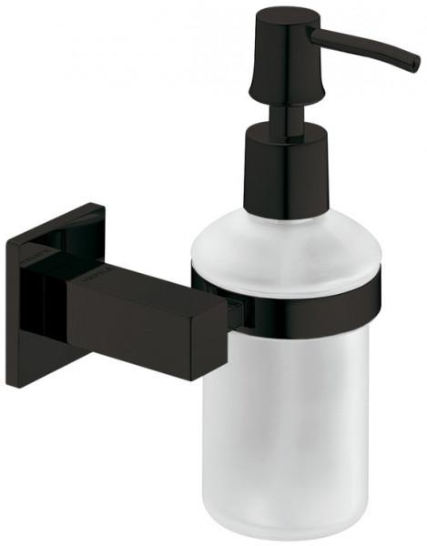 Häfele Seifenspender H7511 Messing graphit-schwarz eckig