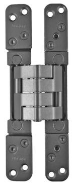 Häfele Bartels PIVOTA DX 60 - verdeckt liegendes Türband 3-D, für Blockzarge