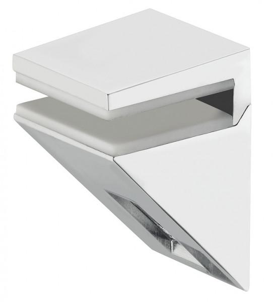 Klemmtablarträger aus Metall für Glastablare 5 - 10 mm