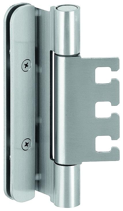 Häfele Startec Objekttürband, Größe 160 mm - Türband für Aufnahmeelement VX - für gefälzte Schallsch