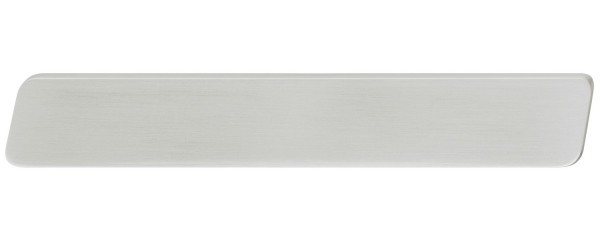 Häfele Möbelgriff H1766 Griffleiste Edelstahl-Optik Bohrabstand 32 oder 160 mm