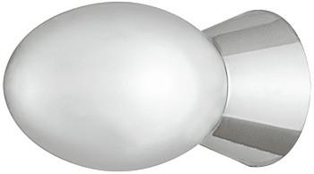 Häfele Möbelknopf H2093 Schrankknopf rund Kunststoff