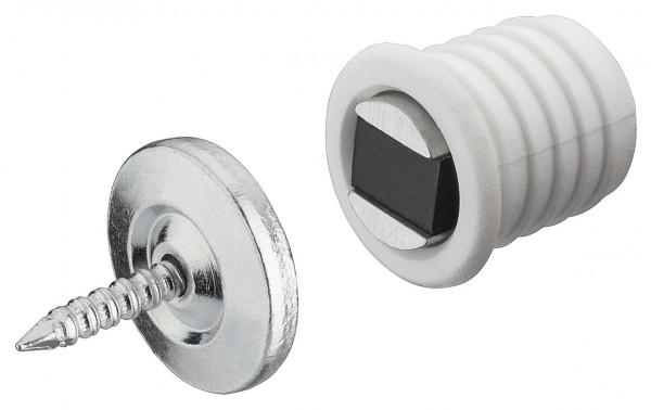 Magnetverschluss aus Kunststoff Ø 12 mm - 1,4 kg