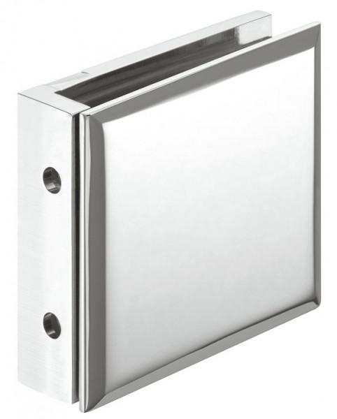 Häfele Glashalter 90 ° H2225 Messing chrom poliert