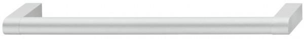 Häfele Möbelgriff H1059 Sockelgriff Aluminium rund silberfarben eloxiert