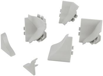 Häfele Verbindungsset für Wandanschlussprofil Kunststoff