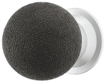 Häfele Möbelknopf H2080 Schrankknopf aus Gummi und messing