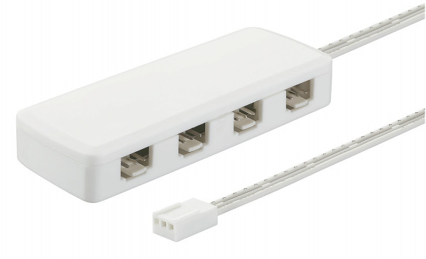 Häfele Verteiler 12/24 V Multi-Weiß zum Anschluss an Mischgerät