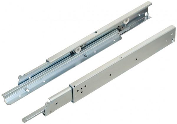 Fulterer Schubladenschienen Vollauszug FR7180 bis 200 kg Rollenführung Stahl aufliegende Montage