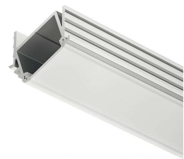 Loox LED-Profil aus Aluminium abgewinkelt 11x21x2500 mm