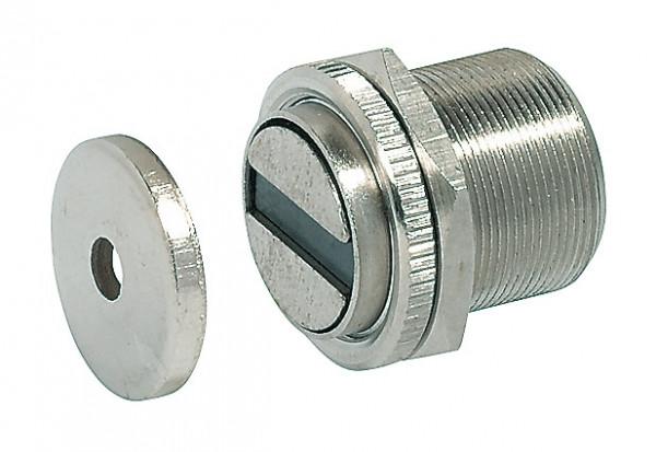 Häfele Magnetverschluss H6047 Haftkraft 7/10 kg zum Schrauben für Metallschränke