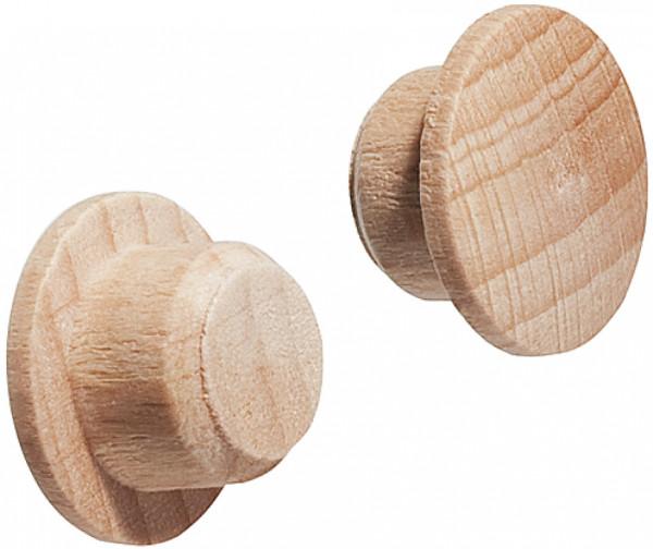 Häfele Abdeckkappe für Blindbohrung Ø 10 mm Massivholz