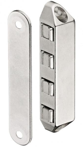 Häfele Magnetschnapper H6030 Haftkraft 8 kg zum Schrauben hitzebeständig