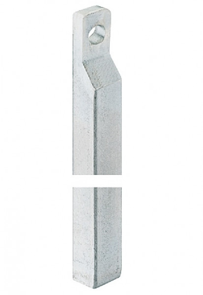 Häfele Stange für Tor-Treibriegel 13 oder 16 mm Torverriegelung 2500 mm