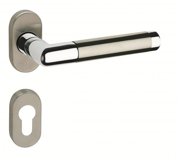 JUVA Türdrücker Tür-Beschlag ROMA PZ - Profilzylinder