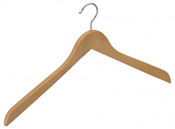 Häfele Kleiderbügel H5209 Hartholz Haken verchromt poliert