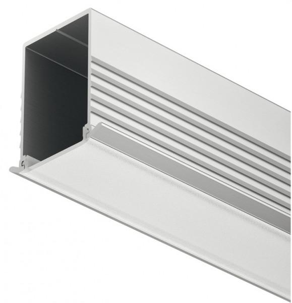 Häfele Einbauprofil Aluminium für LED-Bänder Loox Einbautiefe 24 mm