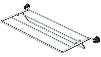 Häfele Krawatten- und Gürtelhalter klappbar Breite 320 mm verchromt poliert