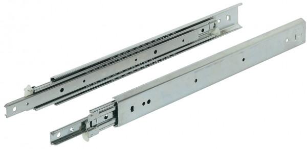 Häfele Kugelführung Vollauszug beidseitig ausziehbar Tragkraft bis 100 kg Stahl seitliche Montage