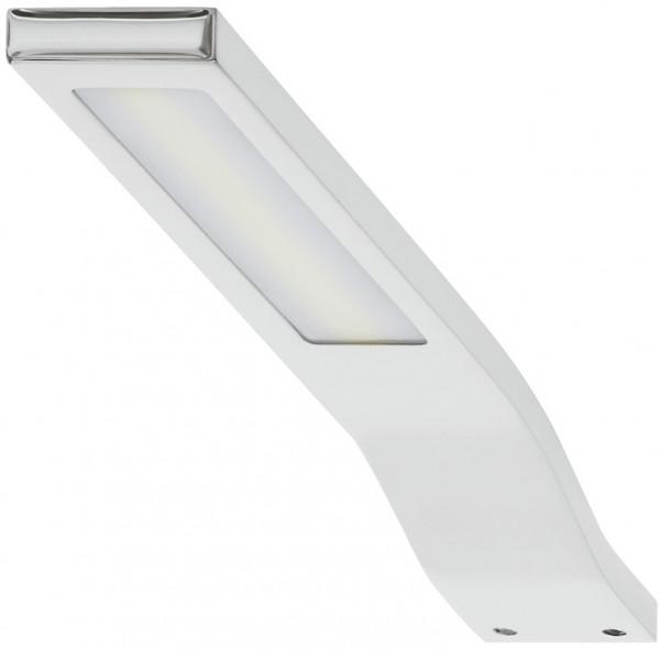 Anbauleuchte 230 V Leuchte LED 1829 S-Form Aluminium mit Konverter