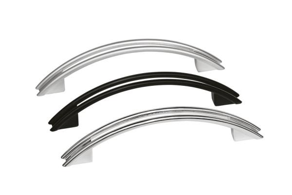 Häfele Möbelgriff SEKO Bogengriff Bohrabstand 96 oder 128 mm