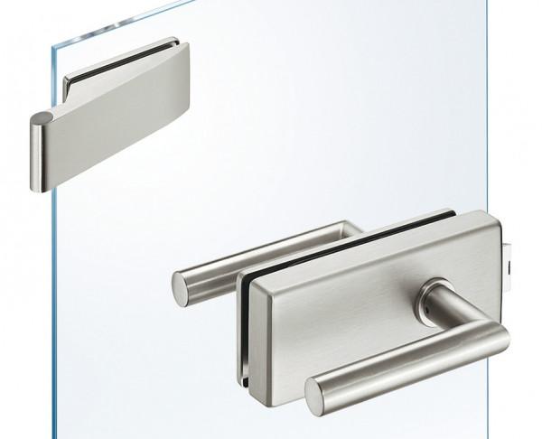JUVA Glastür-Garnitur GHR 402 eckig für Drehtüren im Wohnbereich