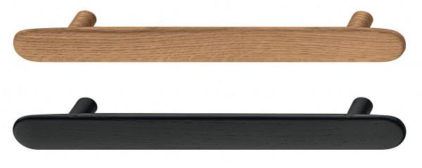 Möbelgriff BUNTO aus Holz, BA 160 mm