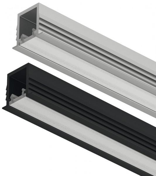 LOOX5 LED-Einbauprofil 1104 aus Aluminium Innenbreite 8 mm