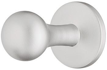 Häfele Garderobenhaken H3805 chrom oder vernickelt Mantelhaken Messing
