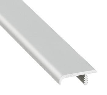 Häfele Griff-Profilleiste H1831 2500 mm Aluminium silberfarben eloxiert