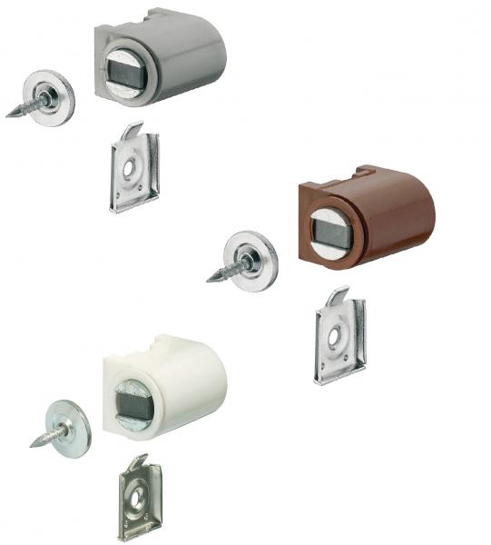 Häfele Magnetschnapper H6004 Haftkraft 3–4 kg zum Schrauben rund