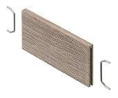 Blum Querteiler AMBIA LINE für Rahmen schmal Holzdesign zum Einschieben ZC7Q010SH