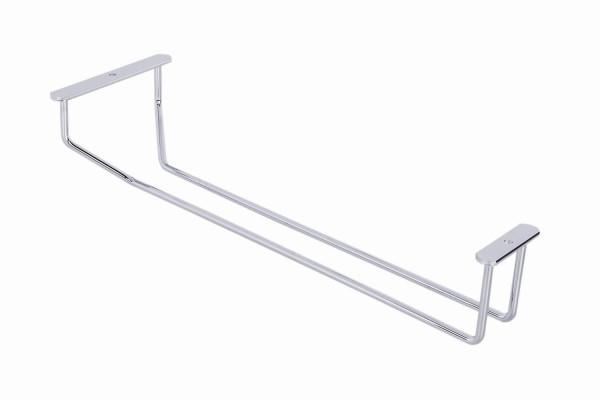 Gläserhalter Stahl verchromt Weinglashalter für Deckenmontage