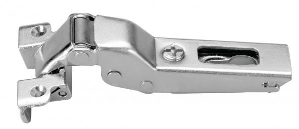 Häfele Topfscharnier Duomatic 105° für schmale Aluminiumrahmen von 17 bis 24 mm
