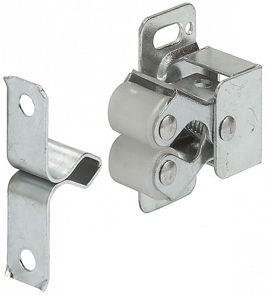 Häfele Doppel-Rollenschnäpper H6076 zum Schrauben Stahl
