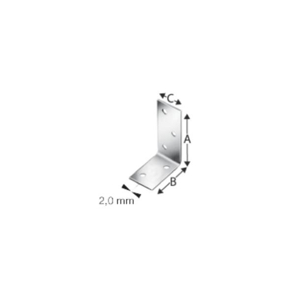 Simpson Winkelverbinder ANPS204425 / ANPS204625 / ANPS206625 feuerverzinkt