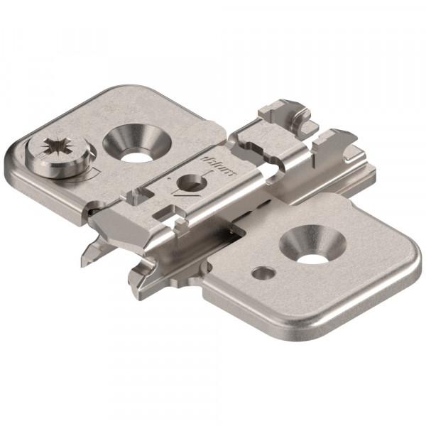 Blum Clip Top Kreuzmontageplatte Exzenter zum Schrauben 0 mm 173H7100