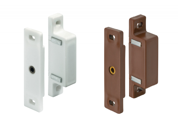 Häfele Magnetschnapper H6015 Haftkraft 4–5 kg zum Schrauben eckig