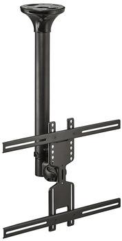 """Häfele TV-Deckenhalter 32-60"""" beweglich Tragkraft 35 kg Stahl schwarz"""