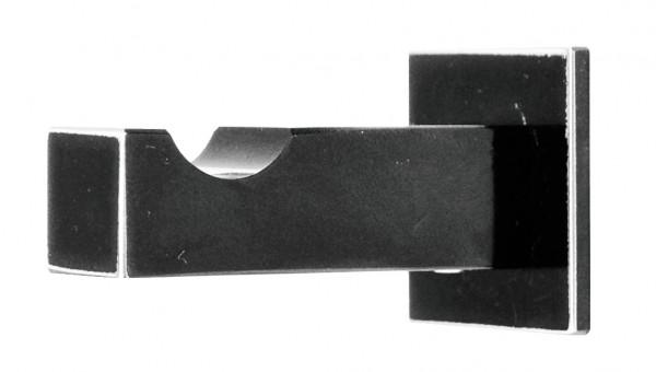 Häfele Garderobenhaken H3832 Edelstahl schwarz Kleiderhaken Tiefe 52 mm