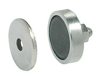 Häfele Magnetverschluss H6044 Haftkraft 3 kg Gewinde M5 für Metallschränke