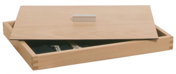 Häfele Deckel H4125 für Schmuckeinsätze Buche oder Eiche