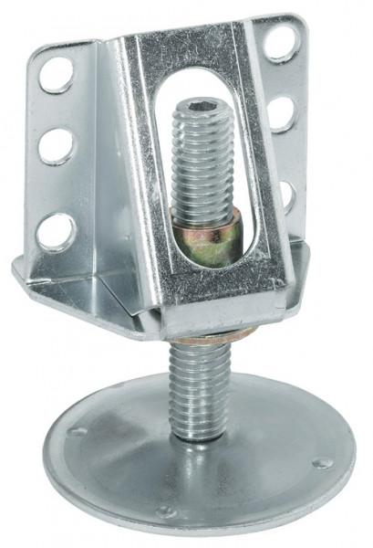 Häfele Sockelhöhenversteller H3930 mit Auflagewinkel zum Schrauben Tragkraft 200 kg