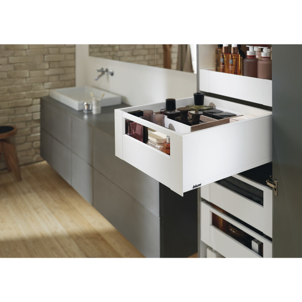 Space Tower Legrabox Pure mit Reling