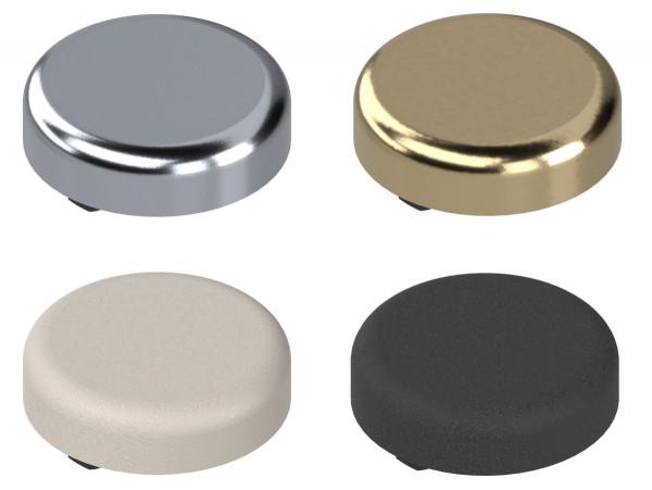 Blum Scharnier Topfabdeckkappe 84.4140 für Clip Top 94° für Glastüren verschiedene Oberflächen