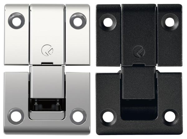 Klappenscharnier KIMANA Klappenband 3-teilig Ø 26 mm