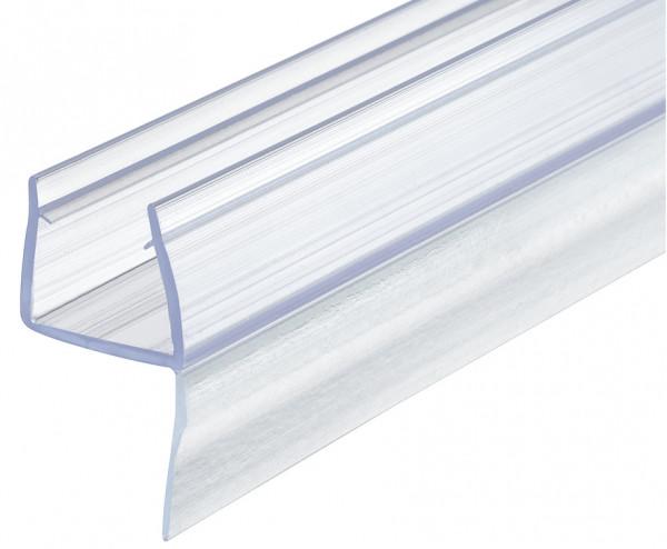 Aquasys Duschdichtung 10-12 mm Glas-Wand Glastürdichtung Türdichtung Kunststoff Wasserabweiser